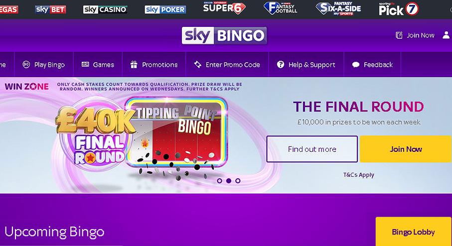 Sky Bingo Online